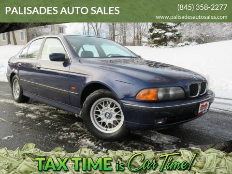 1997 BMW 5 Series 528i for sale at PALISADES AUTO SALES in Nyack NY