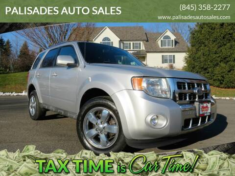 2010 Ford Escape Limited for sale at PALISADES AUTO SALES in Nyack NY