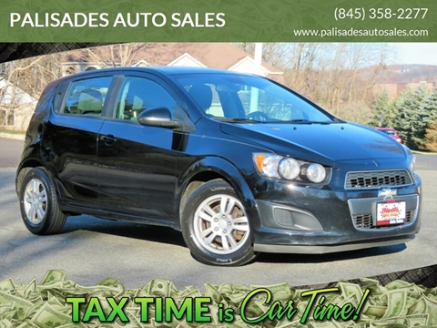 2012 Chevrolet Sonic LS for sale at PALISADES AUTO SALES in Nyack NY