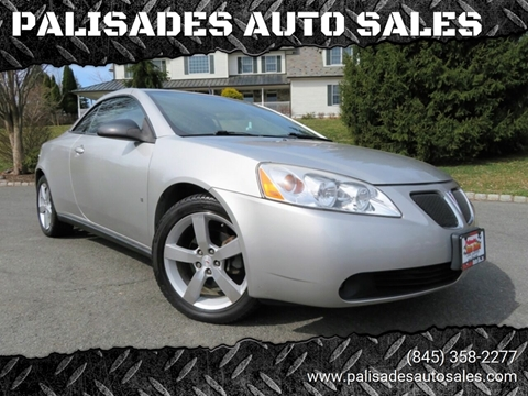 2007 Pontiac G6 GT for sale at PALISADES AUTO SALES in Nyack NY