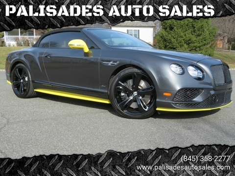 2017 Bentley Continental GT Speed for sale at PALISADES AUTO SALES in Nyack NY