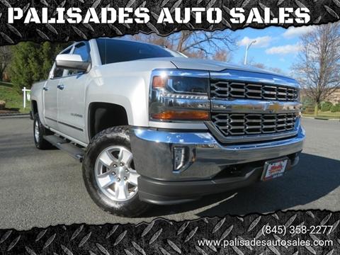 2017 Chevrolet Silverado 1500 LT for sale at PALISADES AUTO SALES in Nyack NY