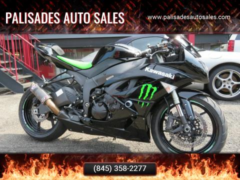 2009 Kawasaki Ninja ZX-6R for sale at PALISADES AUTO SALES in Nyack NY
