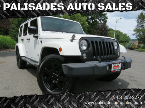 2014 Jeep Wrangler Unlimited for sale at PALISADES AUTO SALES in Nyack NY