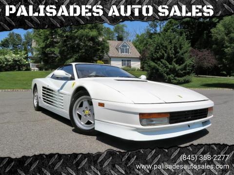 1988 Ferrari Testarossa for sale at PALISADES AUTO SALES in Nyack NY