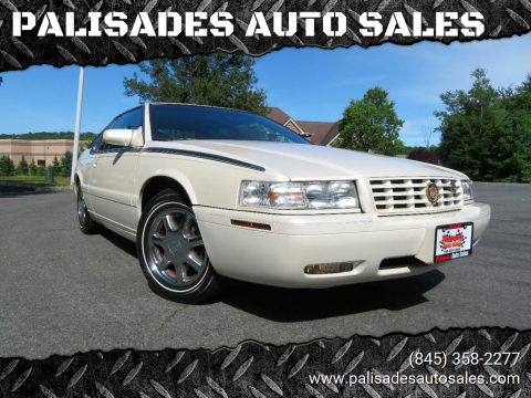 1999 Cadillac Eldorado for sale at PALISADES AUTO SALES in Nyack NY