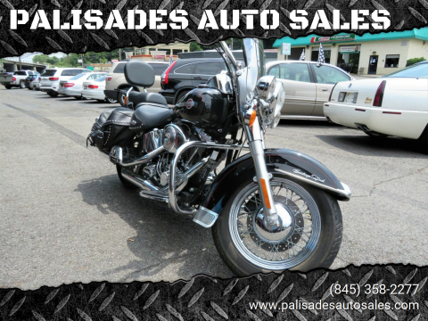2002 Harley-Davidson Heritage Softail Classic for sale at PALISADES AUTO SALES in Nyack NY