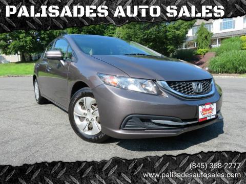 2014 Honda Civic for sale at PALISADES AUTO SALES in Nyack NY