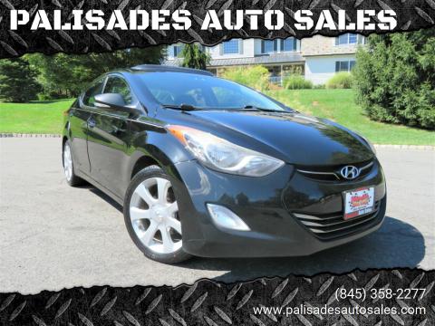 2013 Hyundai Elantra for sale at PALISADES AUTO SALES in Nyack NY