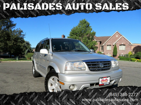 2001 Suzuki XL7 for sale at PALISADES AUTO SALES in Nyack NY