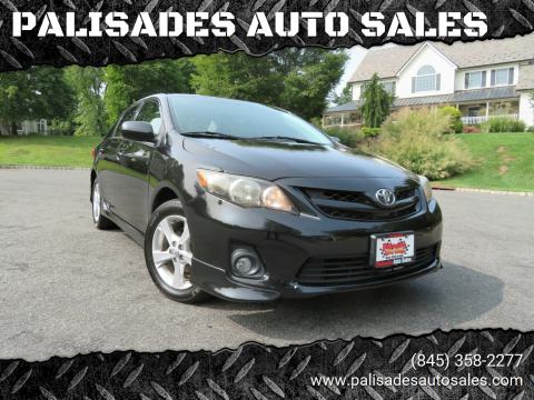 2011 Toyota Corolla for sale at PALISADES AUTO SALES in Nyack NY