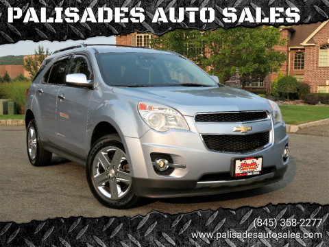 2014 Chevrolet Equinox for sale at PALISADES AUTO SALES in Nyack NY
