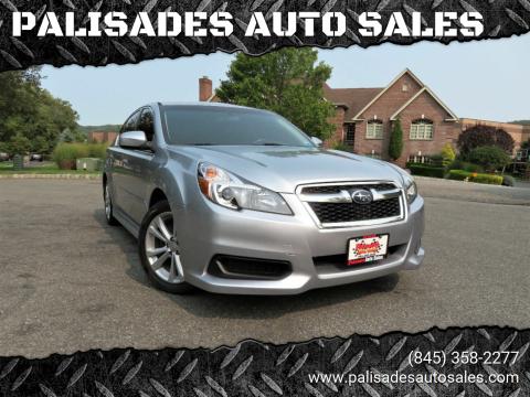 2013 Subaru Legacy for sale at PALISADES AUTO SALES in Nyack NY