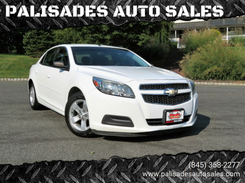 2013 Chevrolet Malibu for sale at PALISADES AUTO SALES in Nyack NY