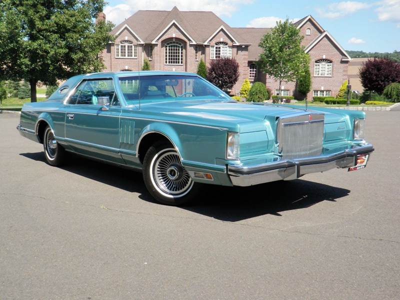 1979 Lincoln Mark V for sale at PALISADES AUTO SALES in Nyack NY