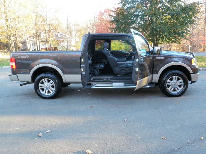 2007 ford f 150 lariat 4dr supercab 4wd styleside 5 5 ft sb in nyack ny palisades auto sales. Black Bedroom Furniture Sets. Home Design Ideas