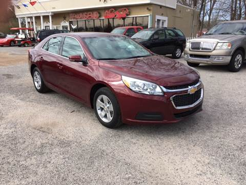 2016 Chevrolet Malibu for sale at Townsend Auto Mart in Millington TN