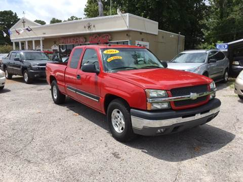 2004 Chevrolet Silverado 1500 for sale at Townsend Auto Mart in Millington TN
