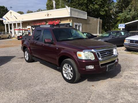 2007 Ford Explorer Sport Trac for sale at Townsend Auto Mart in Millington TN