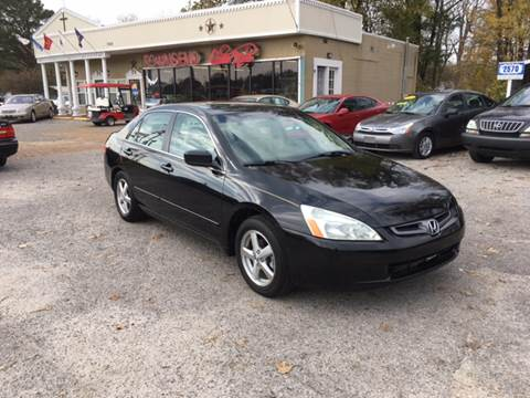 2004 Honda Accord for sale at Townsend Auto Mart in Millington TN