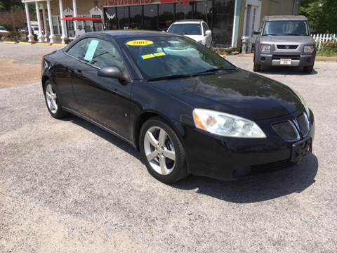 2007 Pontiac G6 for sale at Townsend Auto Mart in Millington TN