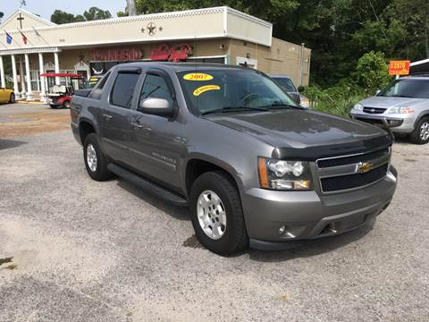 2007 Chevrolet Avalanche for sale at Townsend Auto Mart in Millington TN