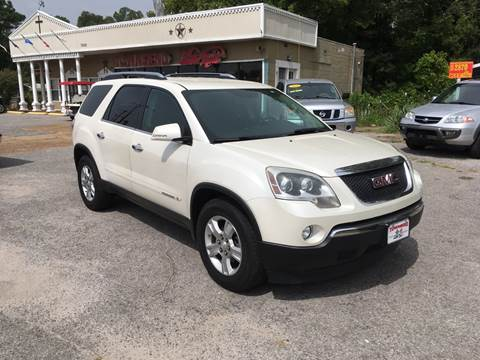 2008 GMC Acadia for sale at Townsend Auto Mart in Millington TN