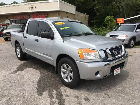 2008 Nissan Titan for sale at Townsend Auto Mart in Millington TN