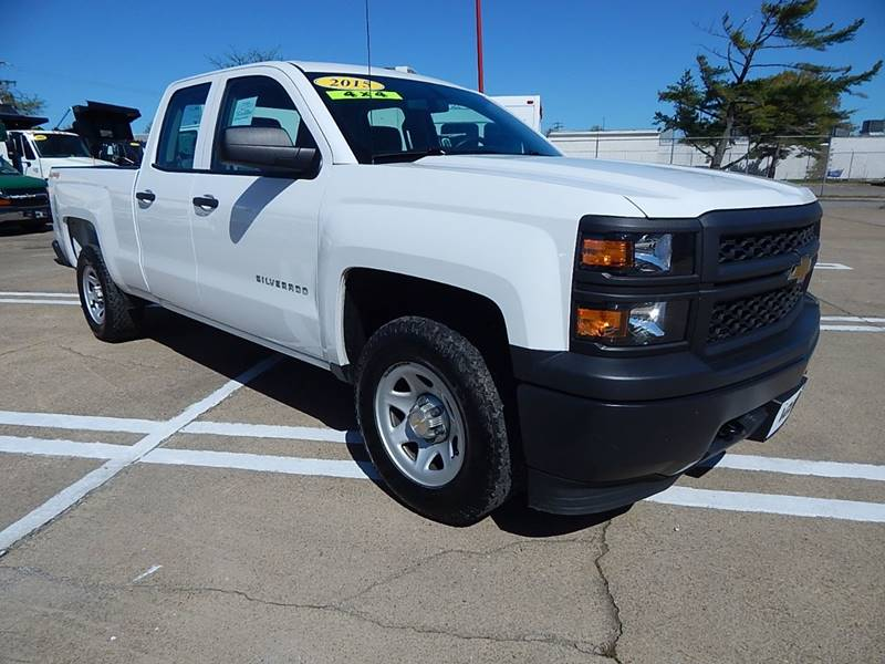 2015 Chevrolet Silverado 1500 4x4 Work Truck 4dr Double Cab 6.5 ft