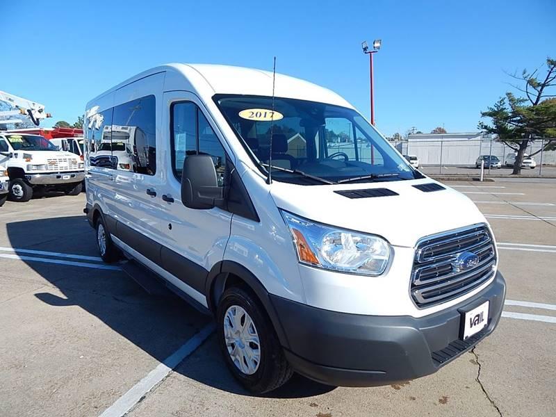 ac1ac4f41e 2017 Ford Transit Passenger 350 XLT 3dr LWB Medium Roof Passenger Van  w Sliding Passenger