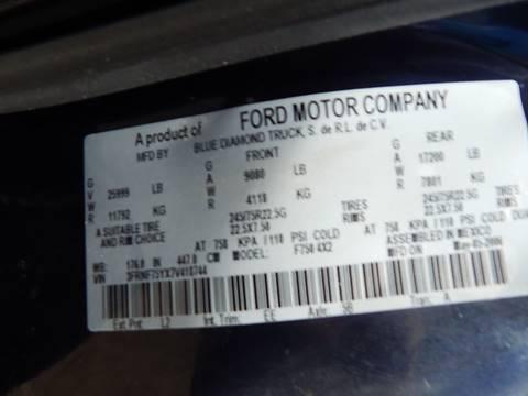 2007 Ford F-750 Super Duty