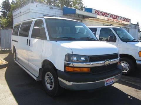 2008 Chevrolet Express Passenger for sale in Kent, WA