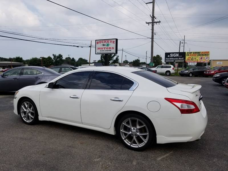 2010 nissan maxima 3 5 sv 4dr sedan in troy oh buckeye. Black Bedroom Furniture Sets. Home Design Ideas