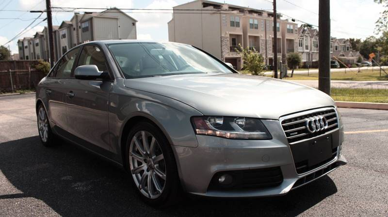 2010 Audi A4 AWD 2.0T quattro Premium 4dr Sedan 6A - Houston TX
