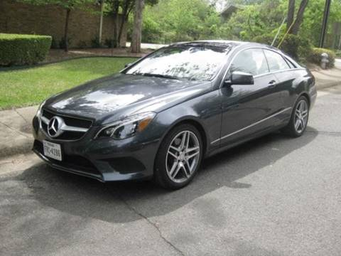 2015 Mercedes-Benz E-Class for sale in Houston, TX