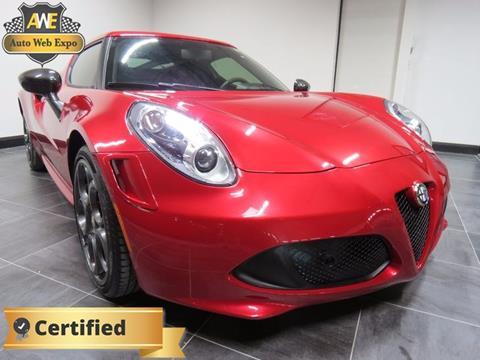 2015 Alfa Romeo 4C for sale in Carrollton, TX