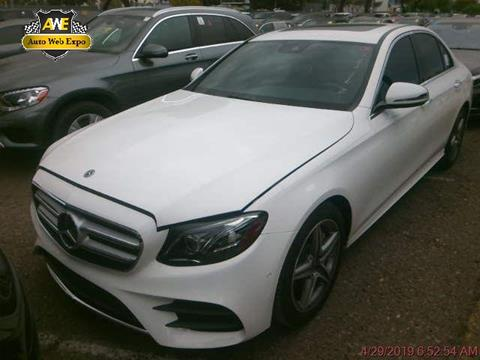2018 Mercedes-Benz E-Class for sale in Carrollton, TX