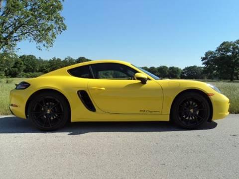 2018 Porsche 718 Cayman for sale in Tyler, TX