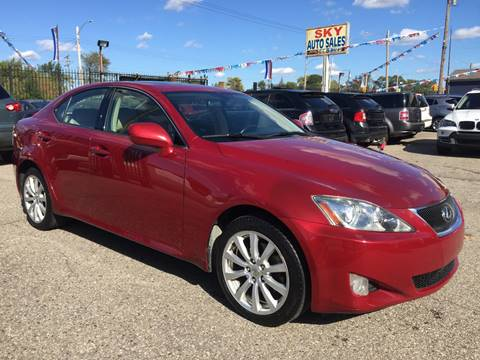 2008 Lexus IS 250 for sale in Detroit, MI