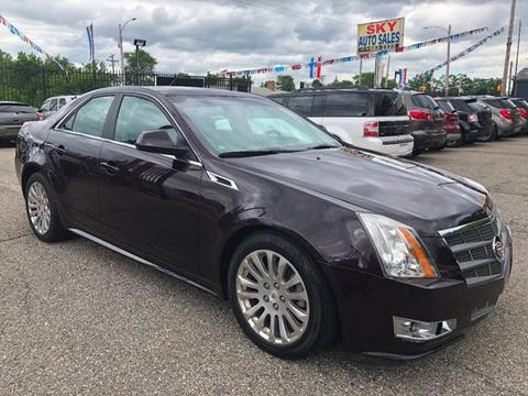 2010 Cadillac CTS for sale at SKY AUTO SALES in Detroit MI