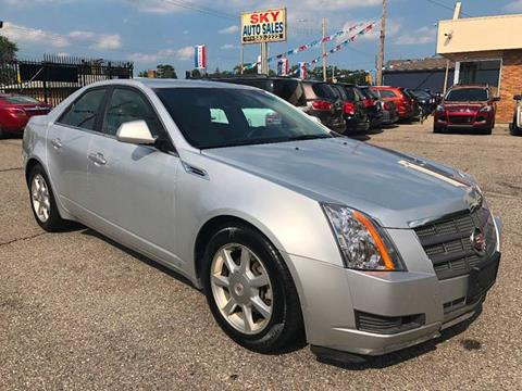2009 Cadillac CTS for sale at SKY AUTO SALES in Detroit MI