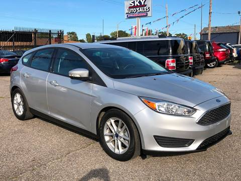 2016 Ford Focus for sale at SKY AUTO SALES in Detroit MI