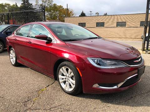 2016 Chrysler 200 for sale at SKY AUTO SALES in Detroit MI