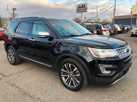 2017 Ford Explorer for sale at SKY AUTO SALES in Detroit MI