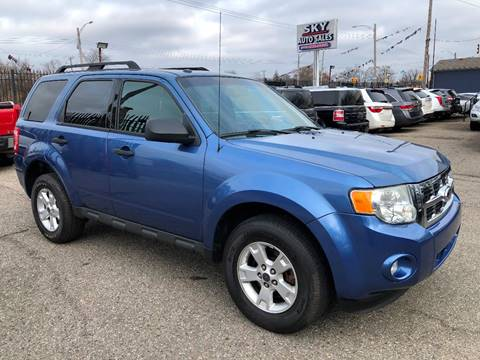 2010 Ford Escape for sale at SKY AUTO SALES in Detroit MI