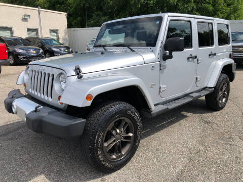 2011 Jeep Wrangler Unlimited for sale at SKY AUTO SALES in Detroit MI