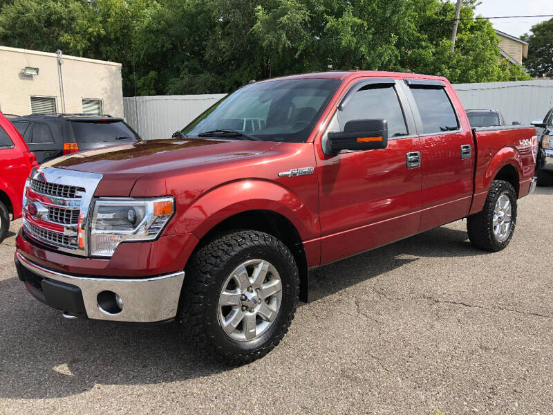 2014 Ford F-150 for sale at SKY AUTO SALES in Detroit MI