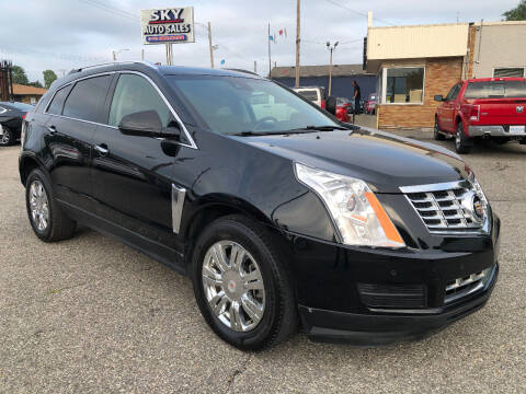 2014 Cadillac SRX for sale at SKY AUTO SALES in Detroit MI