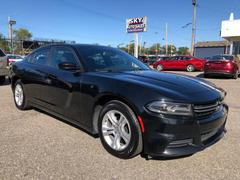 2016 Dodge Charger for sale at SKY AUTO SALES in Detroit MI
