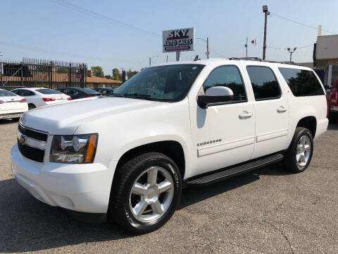2014 Chevrolet Suburban for sale at SKY AUTO SALES in Detroit MI